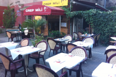 Crep'Mili - Terrasse